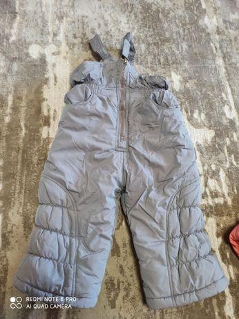 Зимовий комбінезон і куртка