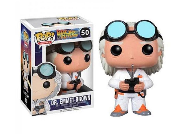Funko POP! Back to the future DR. Emmet Brown UNIKAT!! Nr. 50
