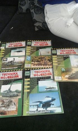 Technika wojskowa czasopisma można kupić jedną gazetę cena 10zl