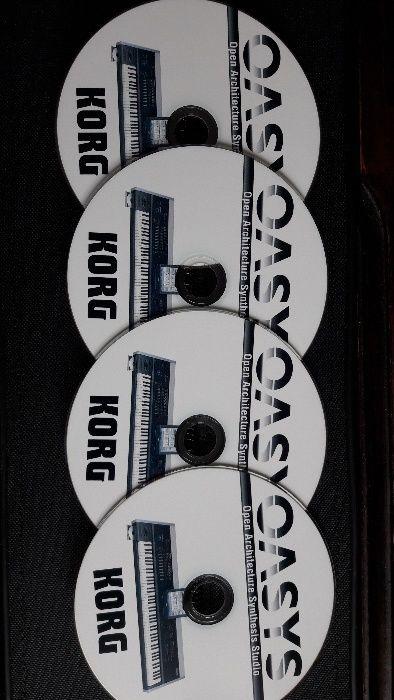 Korg Oasys płyty CD