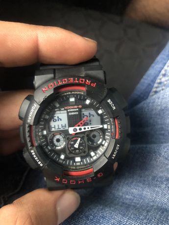 Часы G-Shock GA- 100 продам срочно или обмен на айфон (iphone) 7