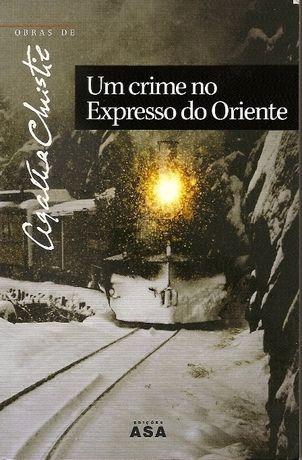 """Livro """"Um Crime no Expresso do Oriente"""" Agatha Christie"""