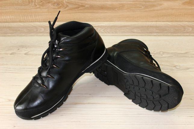 Ботинки Timberland Black Euro Sprint Leather Boots . Размер 47.