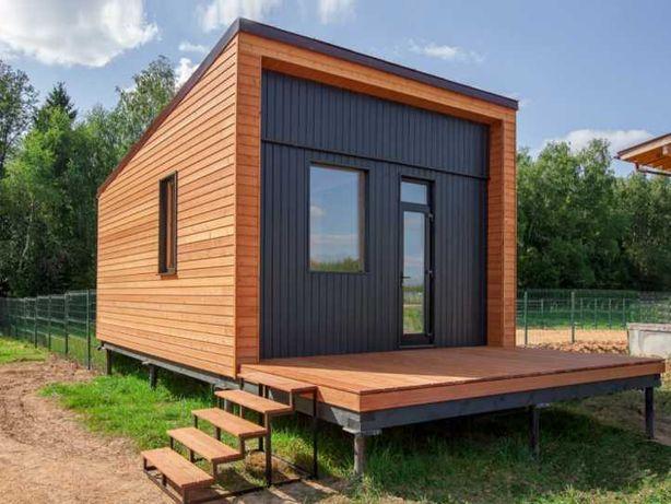 Мини дом 5990$ Стильный Недорогой дом для дачи, базы отдыха Дачный
