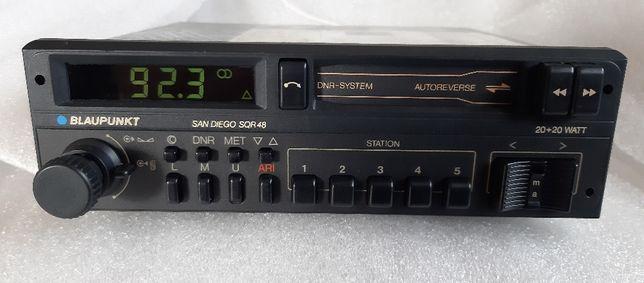 Radio Blaupunkt SAN DIEGO SQR 48 bardzo ładny, sprawny Oldtimer 1988