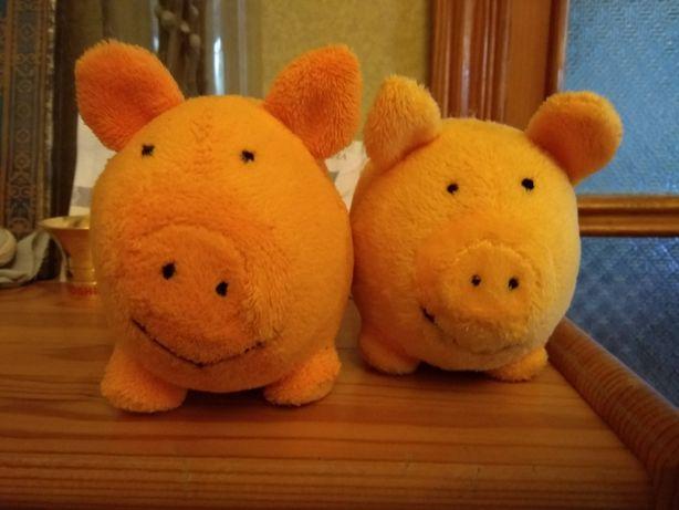 Веселi кабани Свинки мягкие игрушки