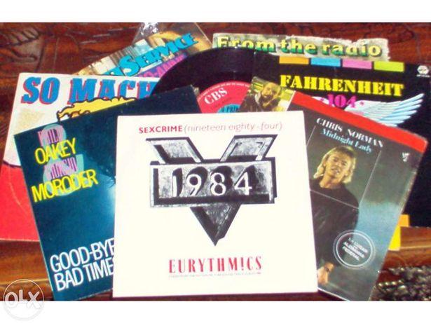 Single de Vinil dos Anos 80 - Vários