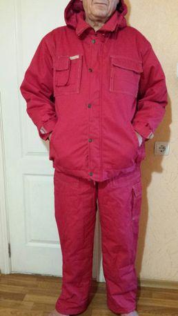 Роба зимний рабочий комбинезон костюм
