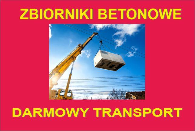 Zbiorniki Betonowe (Szambo) - Transport Gratis HDS Gdynia, Kaszuby