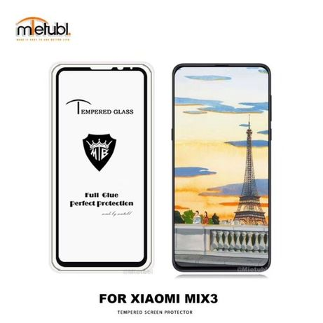 Full Glue стекло Xiaomi Mi Mix 3 2S 2 (ПОЛНАЯ ПОКЛЕЙКА)