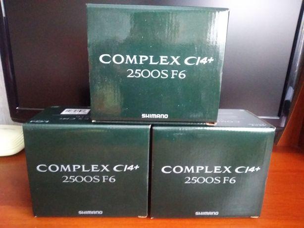 Спининговая катушка Shimano Complex CI4 2500S F6
