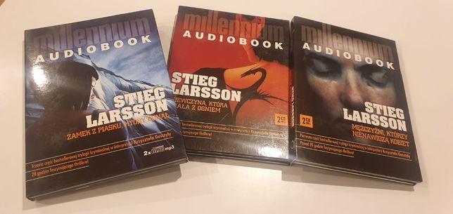 Legendarna trylogia Millenium - audiobook + prezent