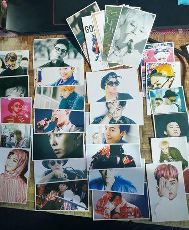Cards e poster K-pop