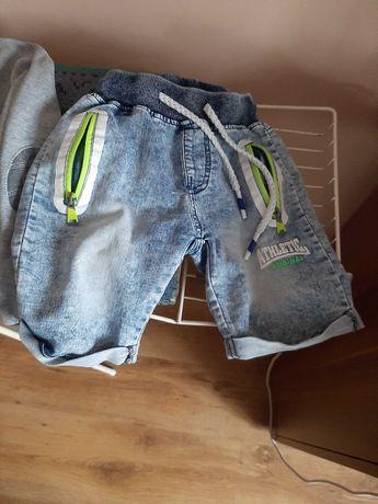 Ubrania dla chlopca r. 122