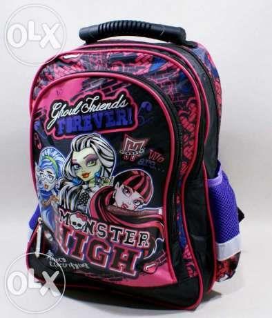 Plecak Monster High NOWY, nowa cena 60zł