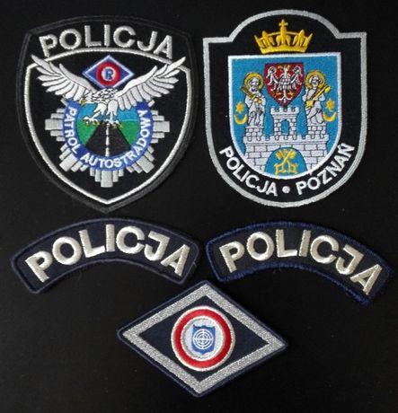 Naszywki Kolekcjonerskie Policji POLSKIEJ i NIEMIECKIEJ