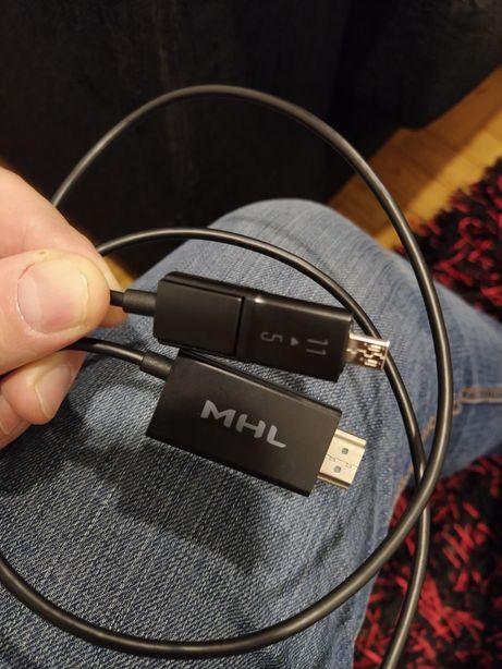 Cabo MHL - USB 5 e 11 pinos para HDMI para smart Phone ou tablet