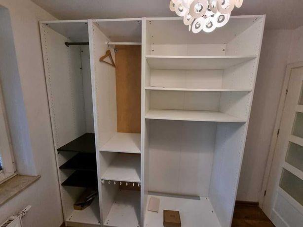 IKEA PAX Kombinacja białej szafy 200x60x236 cm