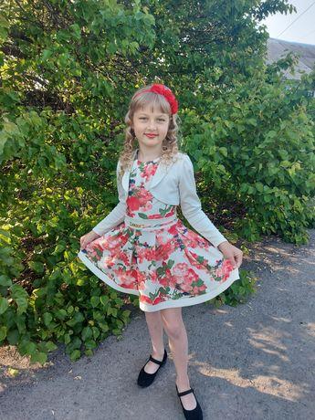 Платье на рост 134-140