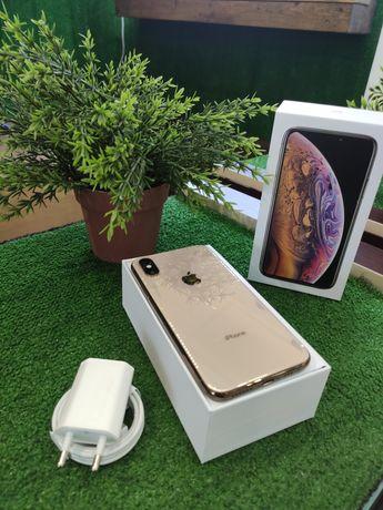 IPhone XS 64 Gold Neverlock Гарантия до 12 мес Магазин