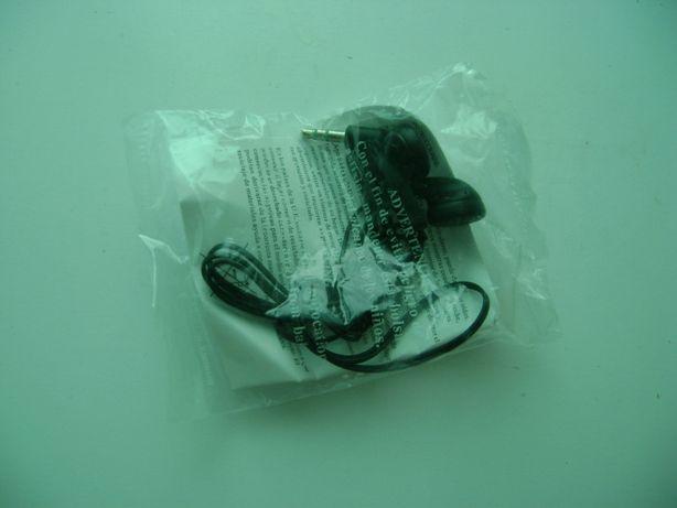 nowe uniwersalne słuchawki douszne na jack 3,5 bardzo tanio