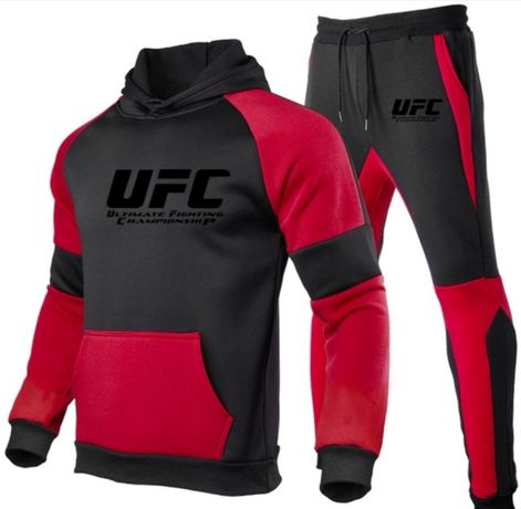bluza i dresy UFC fitness bieganie siłownia sporty walki mma