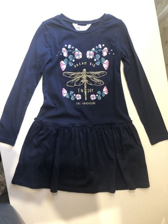 Платье, хлопок, р.110-116