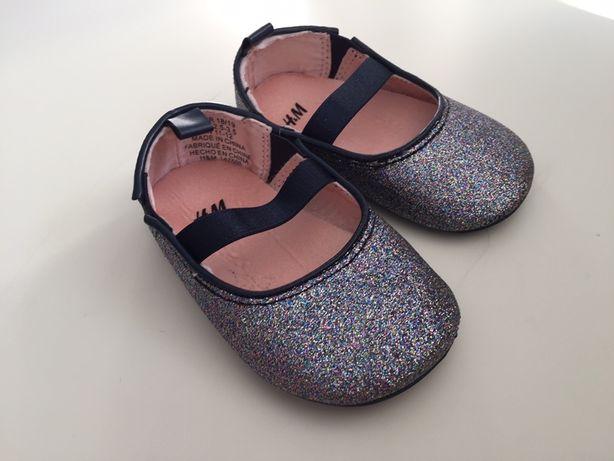 Baleriny buciki H&M dla dziewczynki/karnawał/dziewczynka/HM