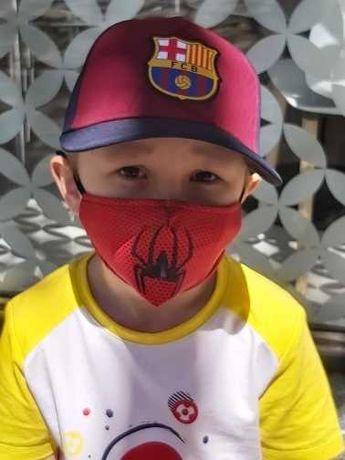 Maseczka 4 SZTUKI wielorazowa ochronna dla dzieci SpiderMan NOWE