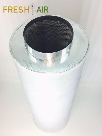 Фильтр угольный 250мм для гроубокса, вентиляции ДНАТ. Fresh Air