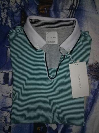 Koszulka męska z krótkim rękawem Zara