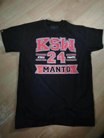 Koszulka MANTO KSW - Rozmiar M - Nowa!