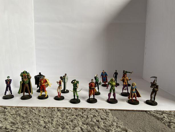 Figuras de chumbo DC Comics de coleção
