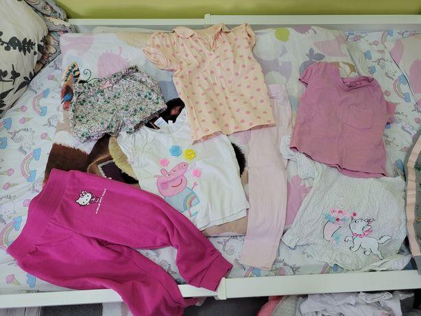Ubrania dla dziewczynki mega paka ponad 50 sztuk ubrań
