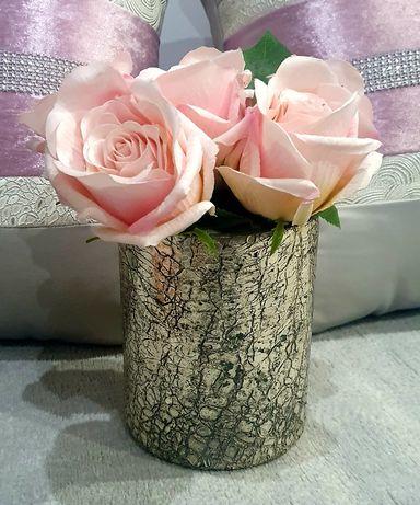Vaso Decorativo  com Rosas