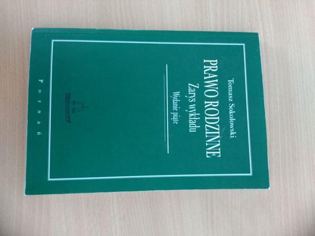 T. Sokołowski, Prawo rodzinne, zarys wykładu. ROZWÓD, ALIMENTY itd