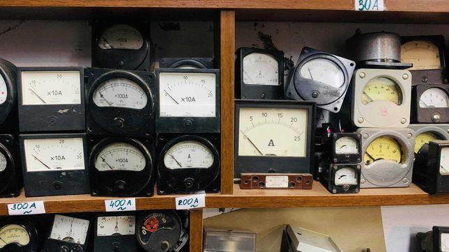 Амперметры вольтметры СССР измерительные головки 10А 50А 250V и др