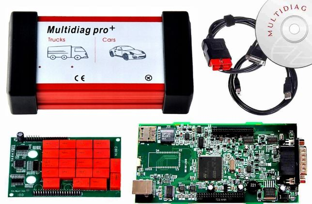 Interfejs diagnostycz MULTIDIAG PRO BLUETOOTH V3.0 Tester PL