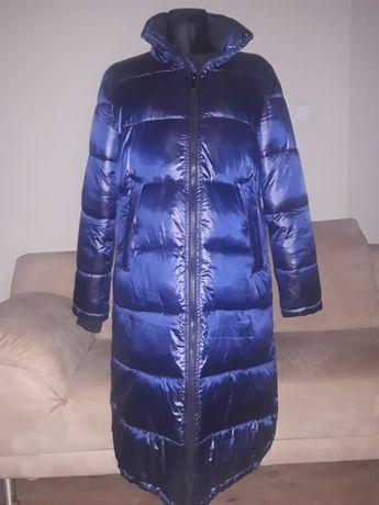 Granatowy płaszcz Diverse L