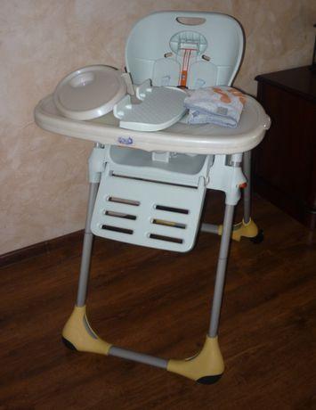 krzesełko chicco dla dziecka stelaż akcesoria stan idealny składane
