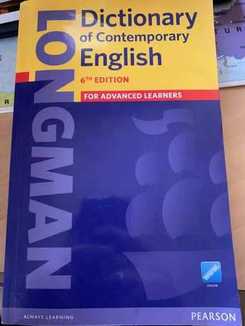 Longman Pearson Dictionary 6th Edition for advanced learners