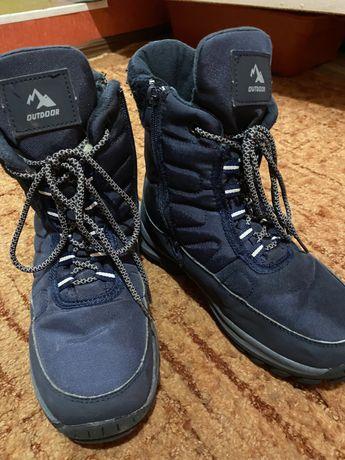 Ботинки зима на мальчика