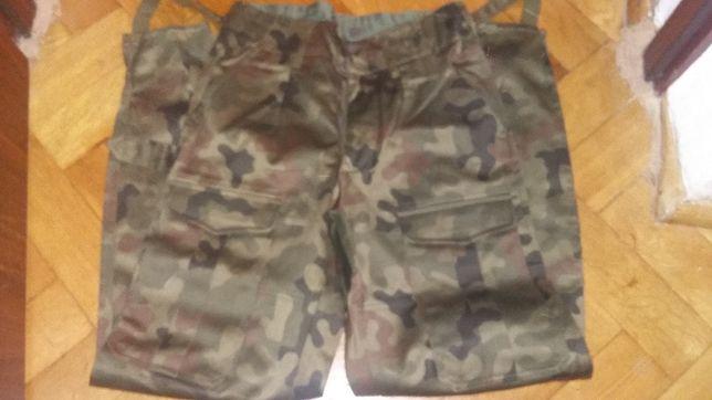 Nowe oryginalne spodnie wojskowe całoroczne/bawełniak