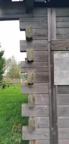 Bale drewniane i duże krokwie