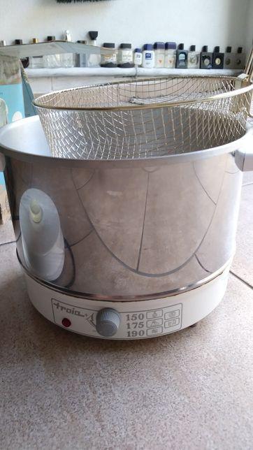 Fritadeira eléctrica inox Tróia