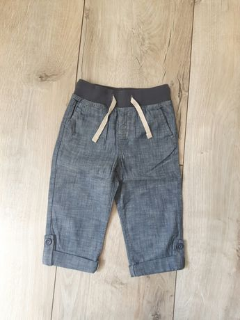 Spodnie letnie dla chłopca 86-92