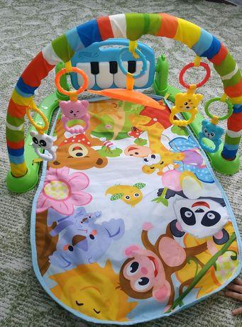 Детский коврик пианино