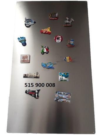 Tablica magnetyczna na magnesy z lodówki pamiątki z wakacji 50x100