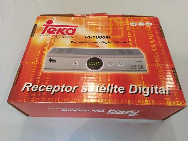 Recetor de Antena Parabólica TK-1000M