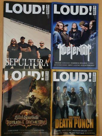 LOUD - revista mensal de rock/metal como novas